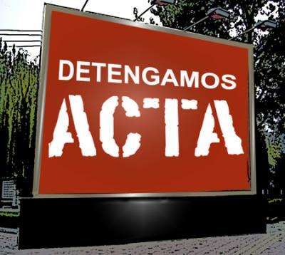 Importancia de la declaración escrita contra ACTA